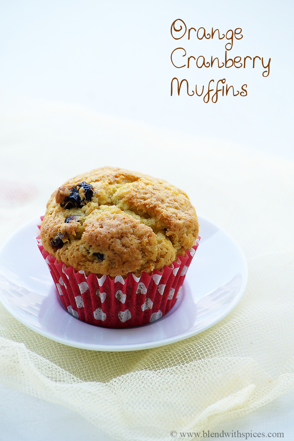 orange cranberry muffins recipe, vegan muffins recipes