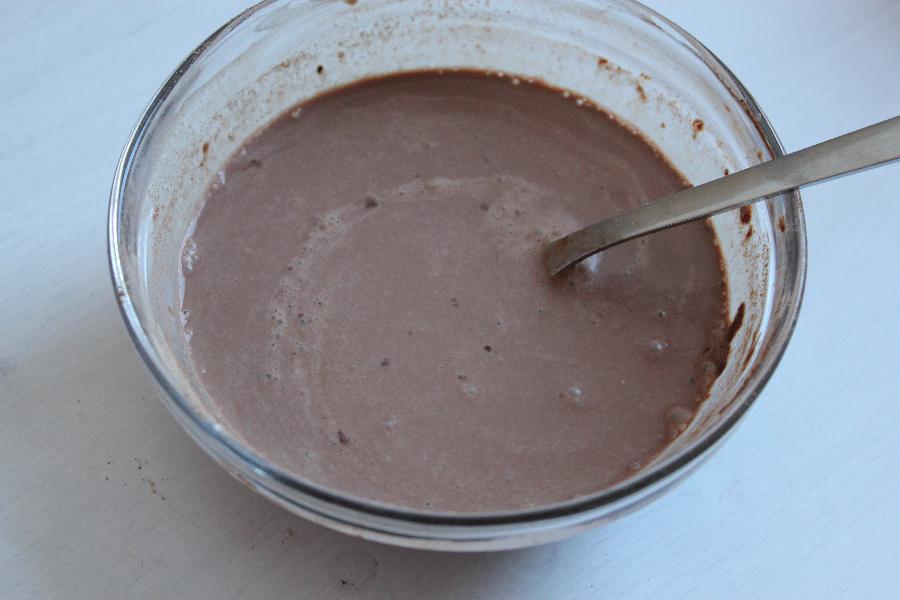 Chocolate Fruit Custard Recipe - Indian Fruit Salad with