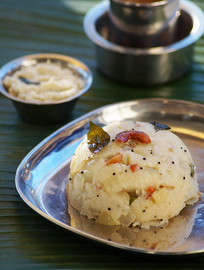Upma Recipe – How to Make South Indian Rava Upma Recipe {Video}