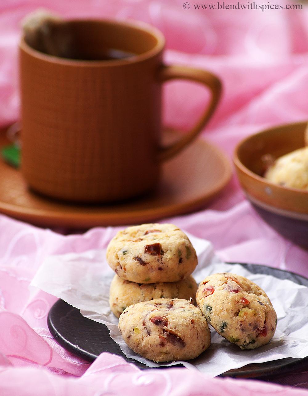 Eggless Fruitcake Cookies Recipe The Best Christmas Fruit Cookie Recipe