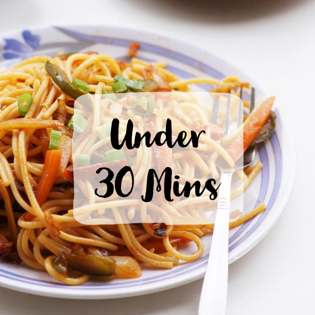 30 Minutes Recipes